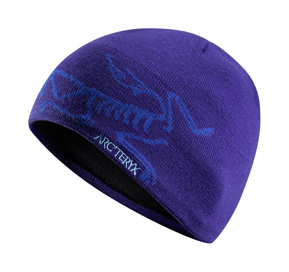 Arcteryx Squid Ink / Blue Ray Bird Head Toque